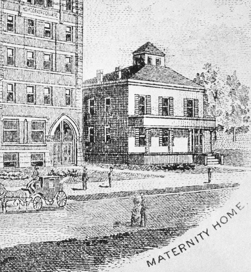 Illustration of Maternity Home
