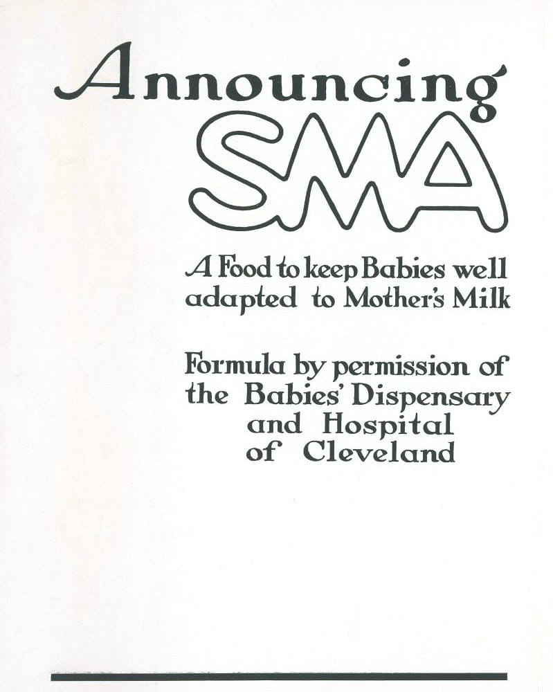 Advertisement promoting SMA circa 1923