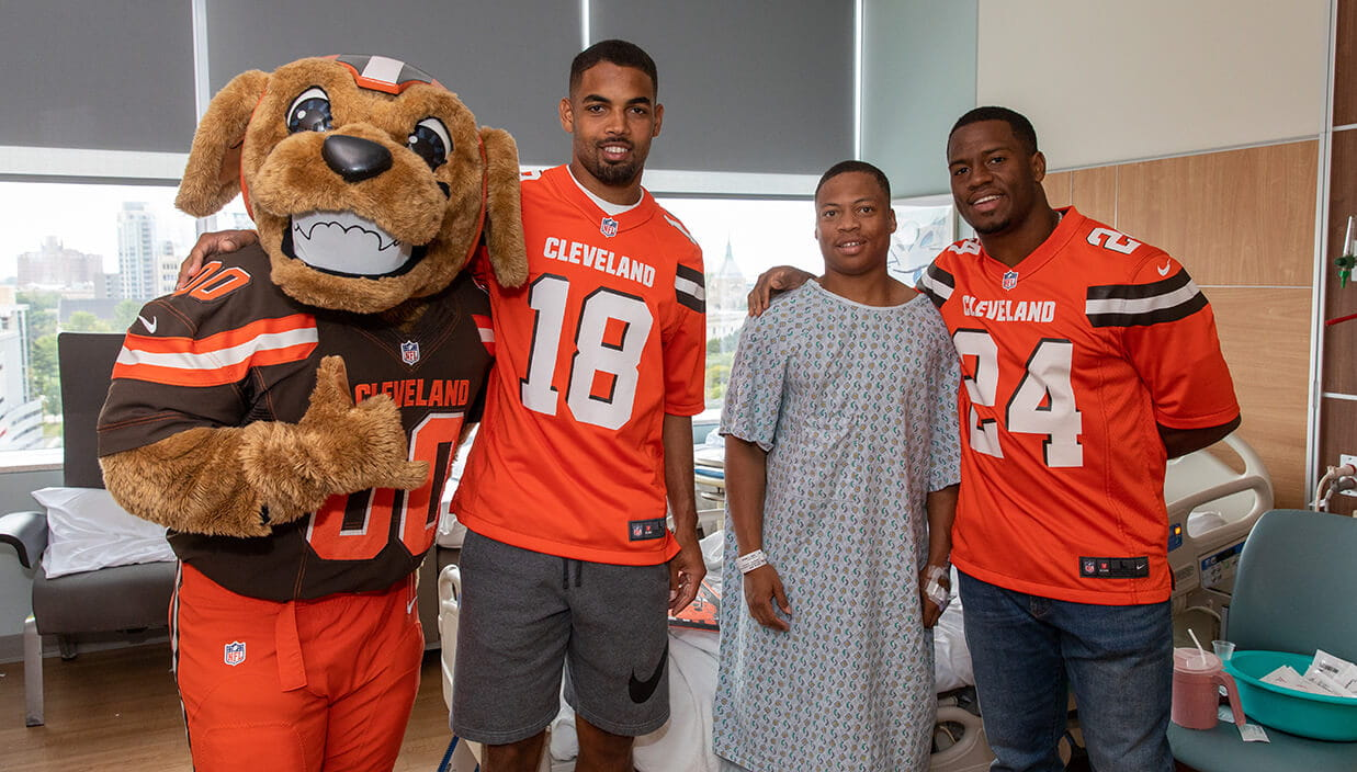 Browns Community Event