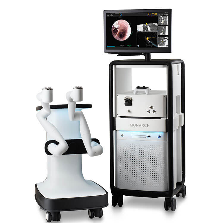 Auris Monarch Robotic Bronchoscopy System