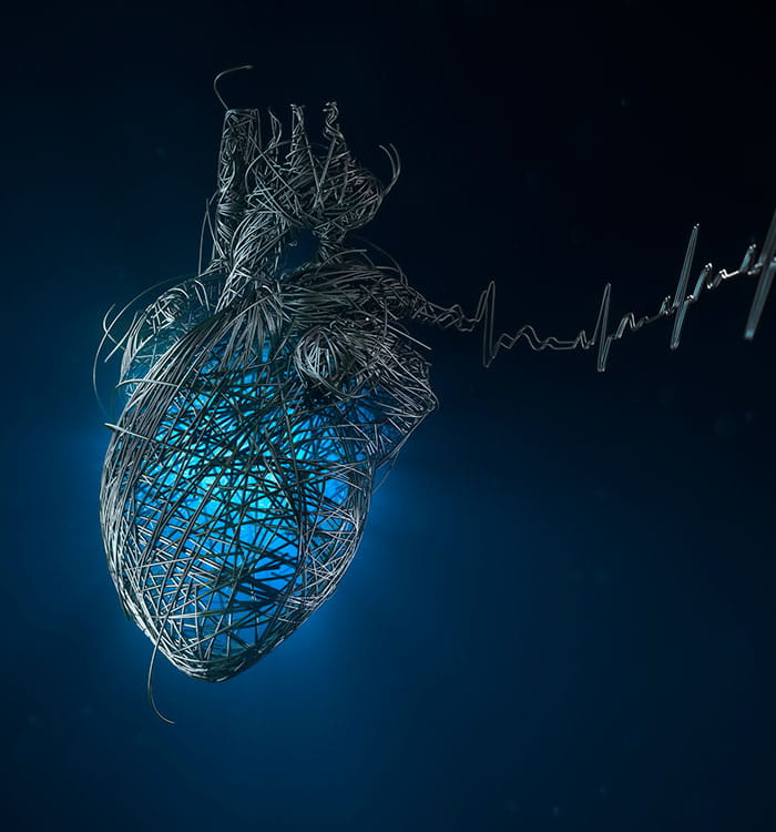 Getty heart image