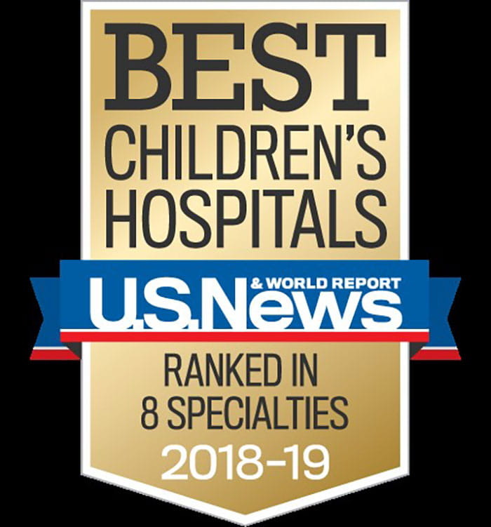 NICU best in region according to US News World Reports Rankings for