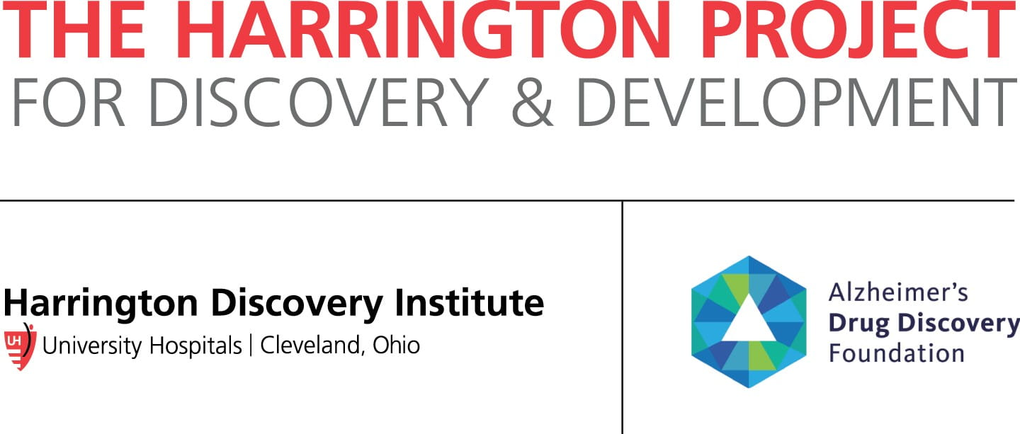 The Harringon Project for Discovery & Development and Alzheimer's Drug Discovery Foundation logo