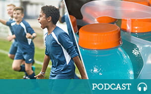 youth athletes and sports drinks