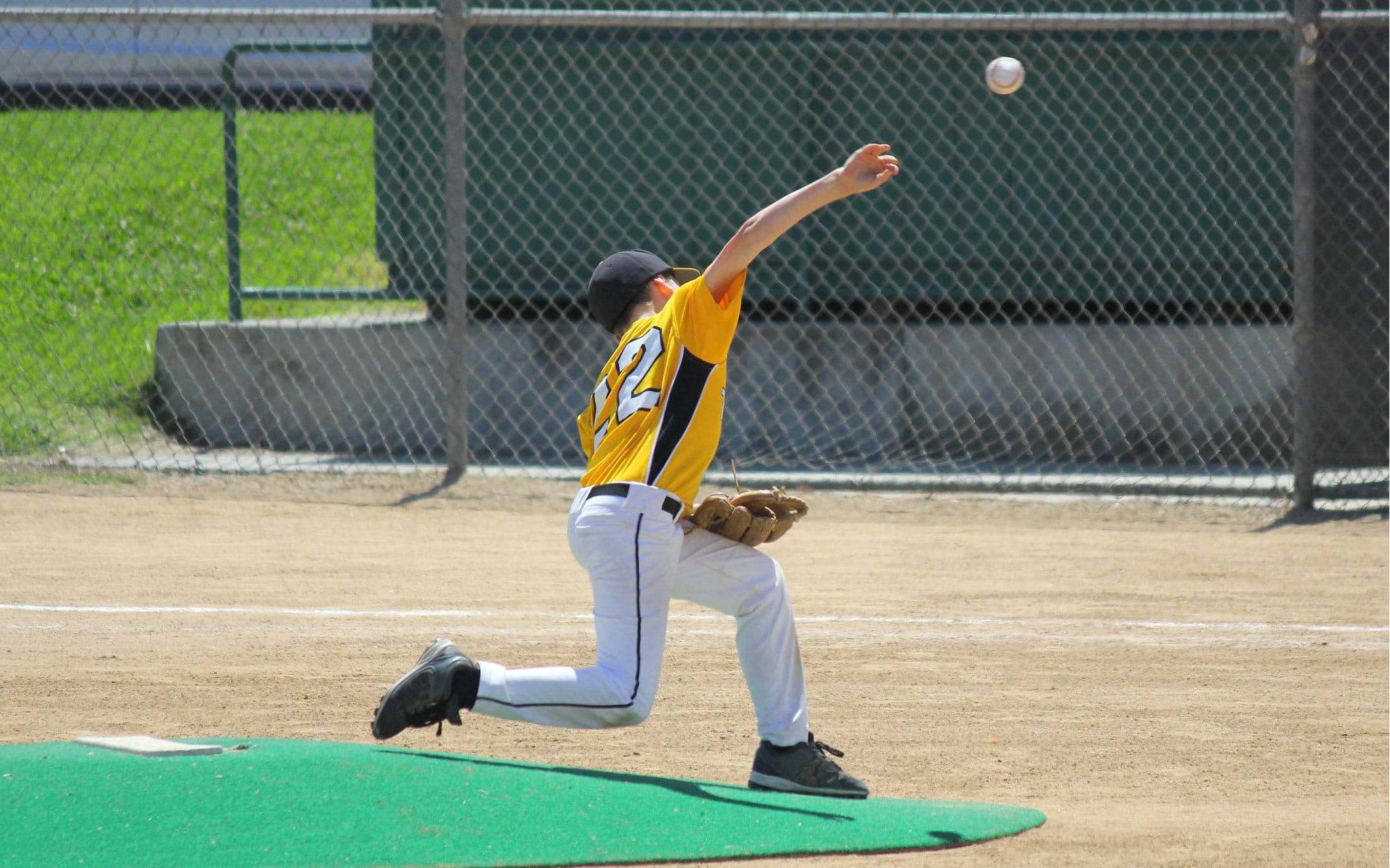 kid pitcher