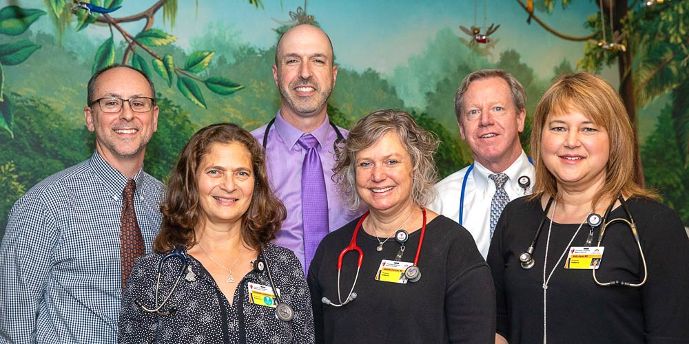 The staff of UH Rainbow Green Road Pediatrics