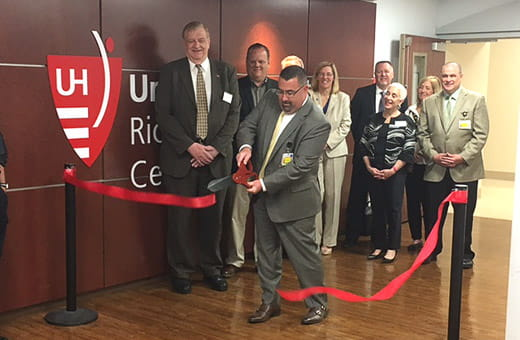 UH Richmond - Emergency Room - ribbon cutting ceremony
