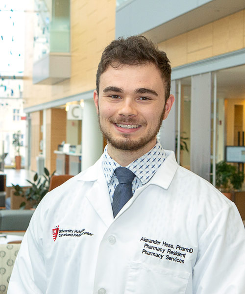 Portrait of Alex Hess, PharmD