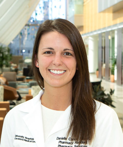 Portrait of Danielle Marut, PharmD