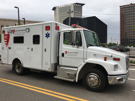 University Hospitals Cleveland Medical Center EMS Services
