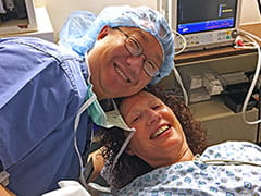 Douglas Rhee, MD, and patient Janet Century teamed up to save her eyes from glaucoma