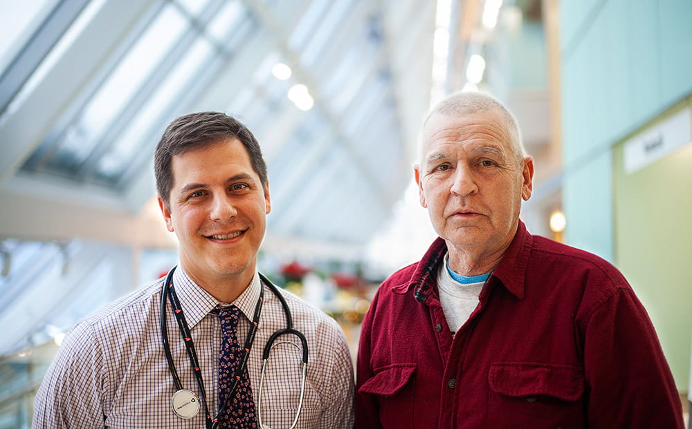 David Bajor, MD and George Miller