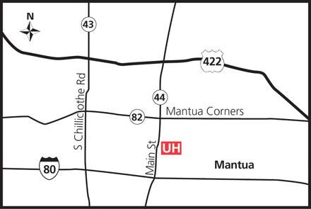 Contact Us Mantua Health Center University Hospitals Cleveland