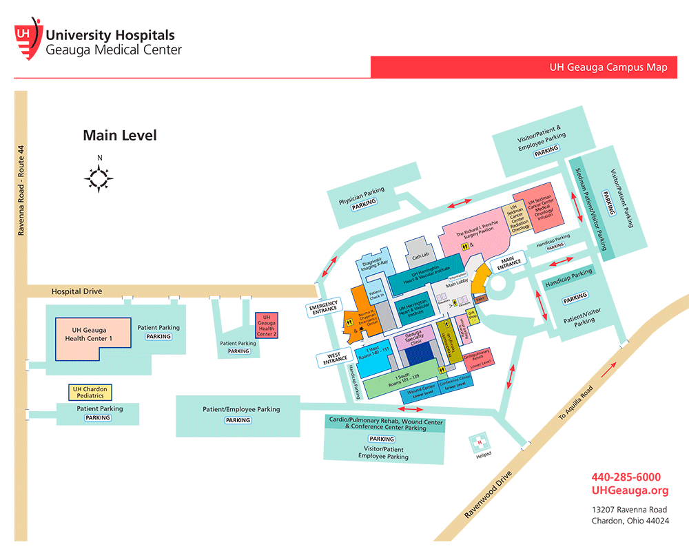 Directions Getting To University Hospitals Geauga Medical Center