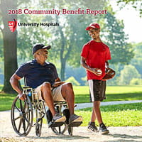 Cover of UH 2018 Community Benefit Report