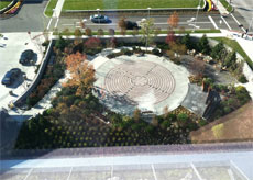 UH Seidman Cancer Center - Schneider Healing Garden - labyrinth