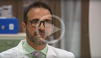 Dr. Mehdi Shishehbor speaks with News 5 Cleveland