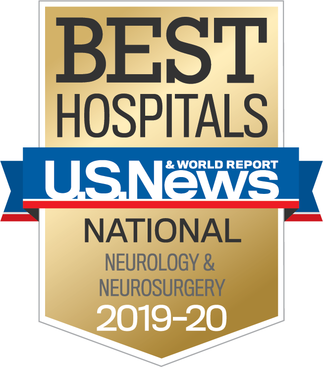 University Hospitals Neurological Institute is once again ranked among the best in the country by U.S. News & World Report