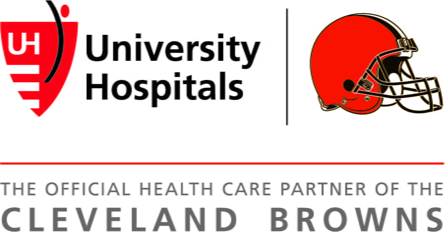 University Hospitals is the official health care partner of the Cleveland Browns