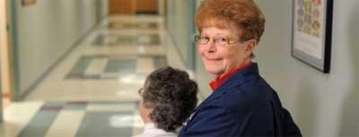 Volunteer at UH Elyria Medical Center in Avon, Amherst